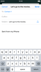 Apple iPhone 7 - E-mail - Sending emails - Step 7
