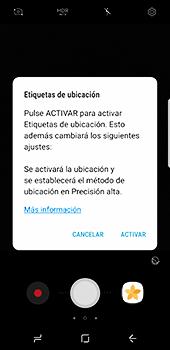 Samsung Galaxy S8 - Funciones básicas - Uso de la camára - Paso 7