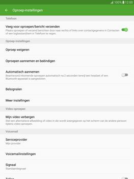 Samsung T815 Galaxy Tab S2 9.7 - Voicemail - Handmatig instellen - Stap 6