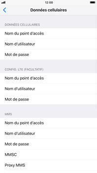 Apple Apple iPhone 6s Plus iOS 11 - Internet - Configuration manuelle - Étape 7
