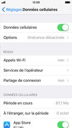 Apple iPhone SE - iOS 11 - Réseau - Activer 4G/LTE - Étape 4