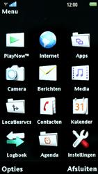 Sony Ericsson U8i Vivaz Pro - E-mail - hoe te versturen - Stap 3