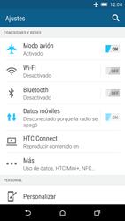 HTC One M9 - Funciones básicas - Activar o desactivar el modo avión - Paso 5