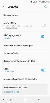 Samsung Galaxy J6 - Rede móvel - Como selecionar o tipo de rede adequada - Etapa 5