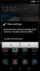Huawei P8 - Settings - Configuration message received - Step 5