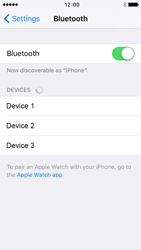 Apple iPhone 5 iOS 9 - WiFi and Bluetooth - Setup Bluetooth Pairing - Step 5
