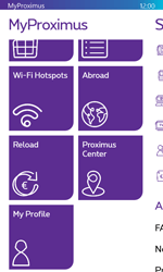Microsoft Lumia 532 - Applications - MyProximus - Step 20