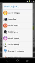 Sony Xperia Z1 - Mensajería - Escribir y enviar un mensaje multimedia - Paso 15