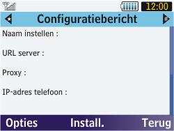 Samsung S3570 Chat 357 - MMS - automatisch instellen - Stap 7