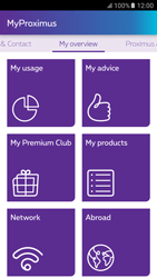 Samsung Galaxy S6 - Android M - Applications - MyProximus - Step 16