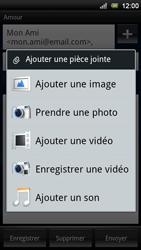Sony Ericsson Xperia Neo V - E-mail - envoyer un e-mail - Étape 9
