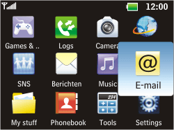 LG C360 Golf - Email - Manual configuration - Step 3