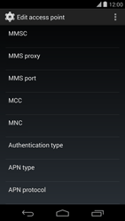 Google Nexus 5 - Mms - Manual configuration - Step 11