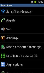 Samsung I8530 Galaxy Beam - Internet - Configuration manuelle - Étape 4