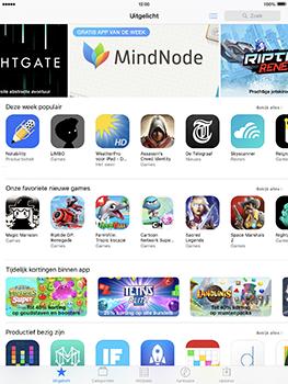 Apple iPad Pro 9.7 - iOS 10 - Applicaties - MyProximus - Stap 3
