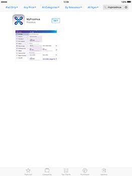 Apple iPad Air iOS 10 - Applications - MyProximus - Step 6