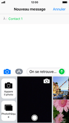 Apple iPhone SE - iOS 11 - MMS - Envoi d
