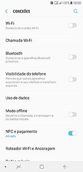 Samsung Galaxy J6 - Wi-Fi - Como configurar uma rede wi fi - Etapa 5