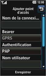 LG GD510 Pop - MMS - Configuration manuelle - Étape 6