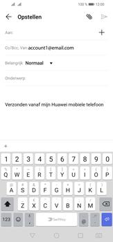Huawei P30 Lite - E-mail - e-mail versturen - Stap 4