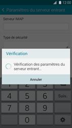 Samsung G900F Galaxy S5 - E-mail - Configuration manuelle - Étape 12