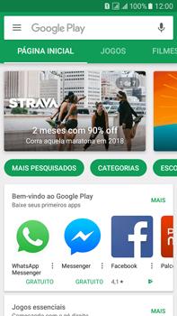 Samsung Galaxy On 7 - Aplicativos - Como baixar aplicativos - Etapa 4