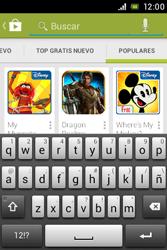 Sony Xperia E - Aplicaciones - Descargar aplicaciones - Paso 14
