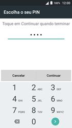 Alcatel Pop 3 - Segurança - Como ativar o código de bloqueio do ecrã -  10