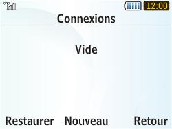 Samsung S3350 Chat 335 - Internet - configuration manuelle - Étape 8