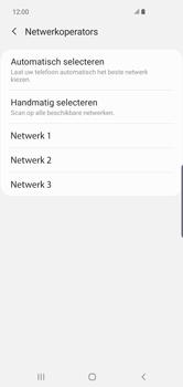 Samsung galaxy-s10-plus-dual-sim-sm-g975f - Netwerk selecteren - Handmatig een netwerk selecteren - Stap 11