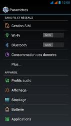Wiko Stairway - Internet - Configuration manuelle - Étape 4