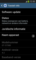 Samsung Galaxy Trend Plus (S7580) - Software updaten - Update installeren - Stap 6