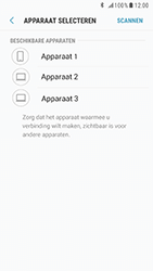 Samsung Galaxy S6 - Android Nougat - Contactgegevens overzetten - delen via Bluetooth - Stap 9