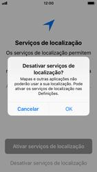 Apple iPhone 5s - iOS 11 - Primeiros passos - Como ligar o telemóvel pela primeira vez -  22