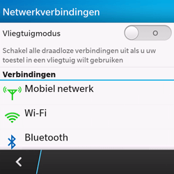 BlackBerry Q10 - Buitenland - Bellen, sms en internet - Stap 6