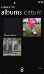 Nokia Lumia 800 - MMS - Afbeeldingen verzenden - Stap 7