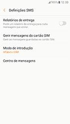 Samsung Galaxy A3 (2017) - SMS - Como configurar o centro de mensagens -  8