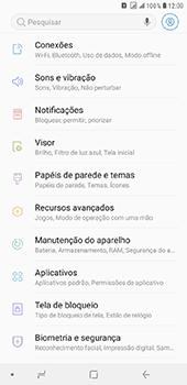 Samsung Galaxy J8 - Wi-Fi - Como configurar uma rede wi fi - Etapa 4