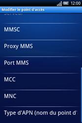 Sony Ericsson Xperia X8 - Mms - Configuration manuelle - Étape 10