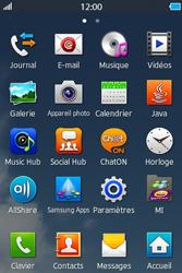 Samsung Wave M - Photos, vidéos, musique - Créer une vidéo - Étape 3