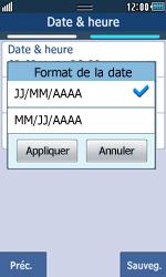 Samsung Wave 723 - Premiers pas - Créer un compte - Étape 11