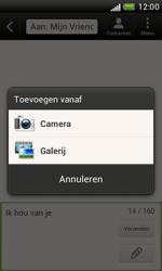 HTC T328e Desire X - Mms - Hoe te versturen - Stap 9