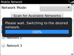 BlackBerry 9720 Bold - Network - Usage across the border - Step 10