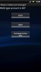 Sony Ericsson MT15i Xperia Neo - E-mail - handmatig instellen - Stap 6