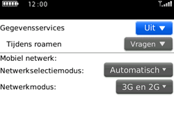 BlackBerry 9300 Curve 3G - Internet - Aan- of uitzetten - Stap 5