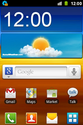 Samsung S7500 Galaxy Ace Plus - Internet - Automatisch instellen - Stap 3