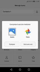 Huawei Y6 (2017) - Mensajería - Escribir y enviar un mensaje multimedia - Paso 14