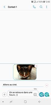 Samsung Galaxy J6 - Contact, Appels, SMS/MMS - Envoyer un MMS - Étape 20
