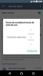 Sony Xperia XZ (F8331) - Internet - Ver uso de datos - Paso 7