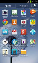 Samsung Galaxy Trend - Contact, Appels, SMS/MMS - Ajouter un contact - Étape 3